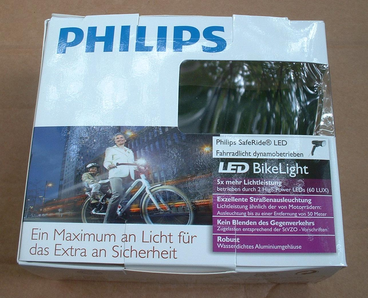 philips saferide dynamo box