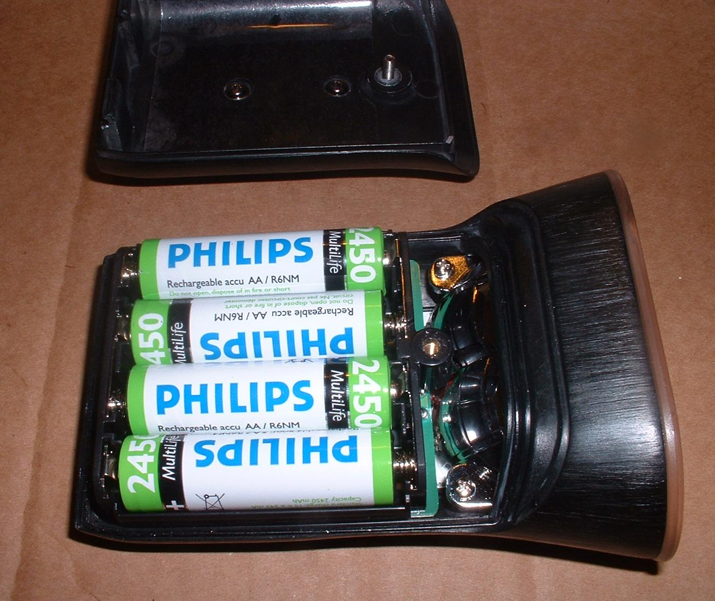 philips led bike light lbl battery powered with cutoff. Black Bedroom Furniture Sets. Home Design Ideas