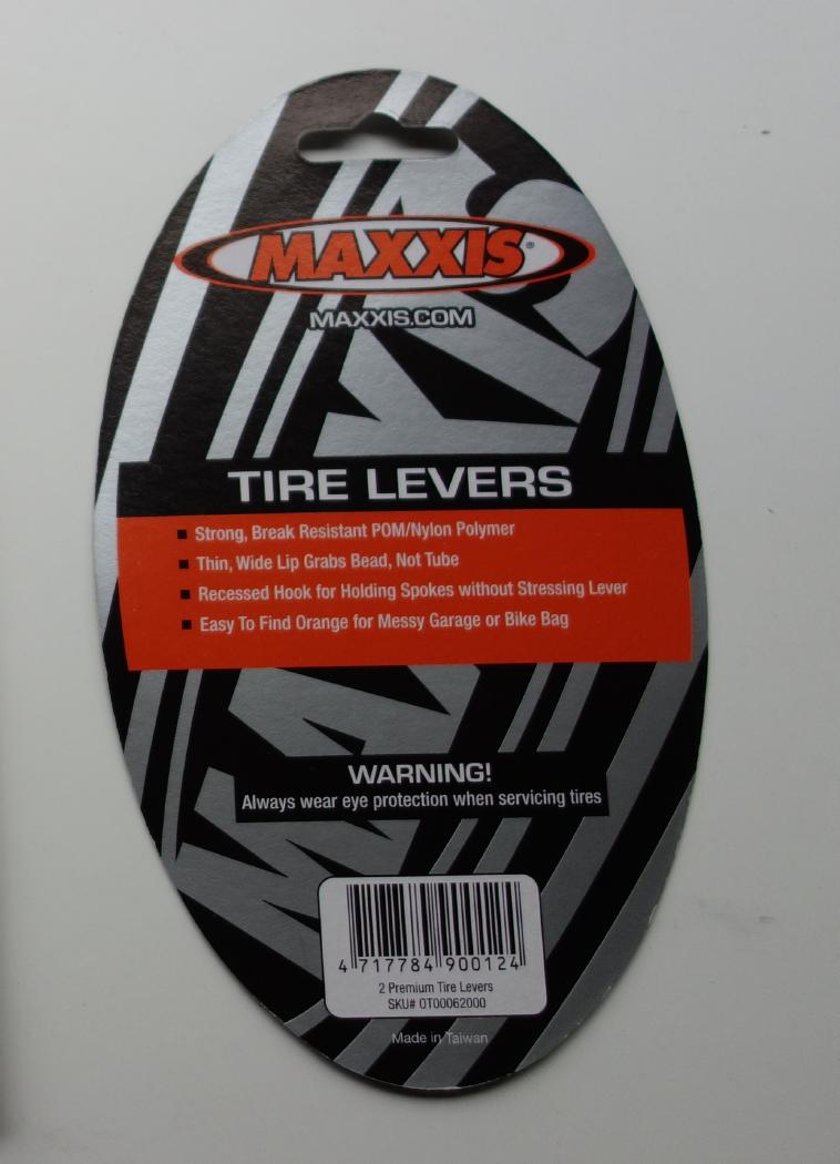 Maxxis Premium Tire Levers For Bicycle Tires 2 Levers Per Package
